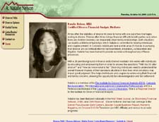 web site for Divorce Financial Analyst